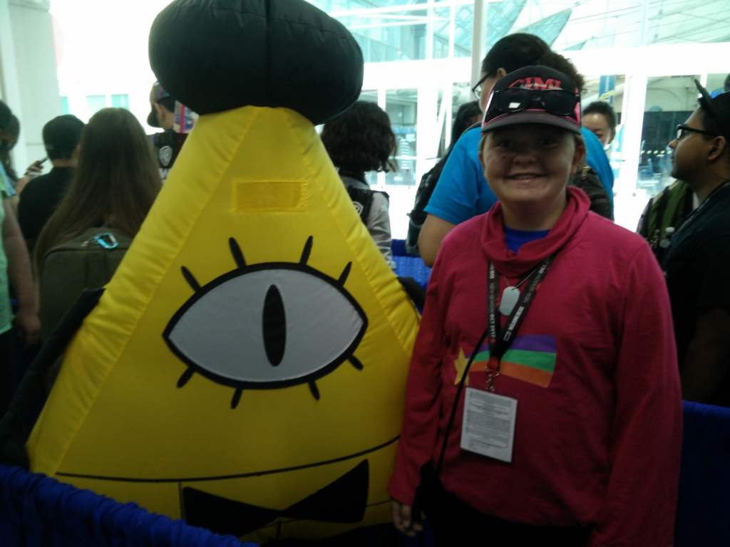 SDCC 2017 Gravity Falls cosplay