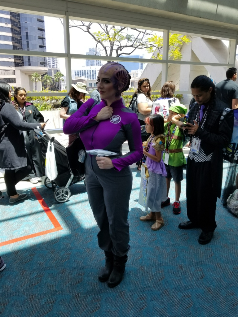 SDCC 2017 Galaxy Quest cosplay